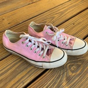 Converse All Star Pink Sneakers Sz 7